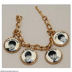 The Beatles Original 1964 Charm Bracelet Historia Do Rock, The Ed Sullivan Show, Love Me Do, The Fab Four, Novelty Print, Lady And Gentlemen, Kinds Of Music, Paul Mccartney, The Beatles