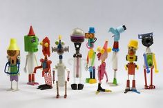 AShirtBag: Rusti D recycled toys/sculpture?