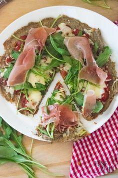Paleo-Pizza aus Buchweizen  Nummer Fünfzehn