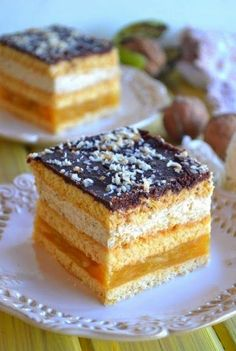 Energy bars with dates - HQ Recipes Sweets Recipes, No Bake Desserts, Cookie Recipes, Delicious Desserts, Yummy Food, Polish Desserts, Polish Recipes, Potica Bread Recipe, Polish Cake Recipe