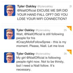 Tyler Oakley is a fan girl Tyler Oakley  .....Best Oakley Sunglasses Supplier...Huge Discount: $17 per pair.