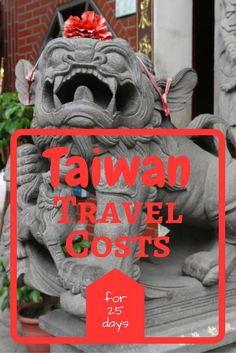 We spent six weeks travelling around Taiwan, find out how much money we spent there in our Taiwan Travel Costs breakdown, including food, transport and accommodation prices.