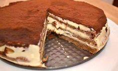 Much Depends on Dinner: tiramisu Turkish Recipes, Ethnic Recipes, Pasta Cake, Caesar Pasta Salads, Birthday Desserts, Caking It Up, Sweet Cakes, Homemade Cakes, Sweet Recipes