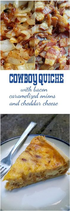 abendessen kinder Cowboy Quiche Cowboy-Quiche - Rumbly in meinem Tumbly Breakfast Quiche, Breakfast Dishes, Breakfast Time, Breakfast Recipes, Vegan Breakfast, Breakfast Casserole, Quiche Recipes, Casserole Recipes, Cowboy Quiche