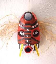 Recycled African Mask craft