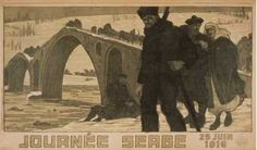 Journee Serbe. 25 Juin (1916)