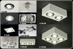 Spotjes inbouw en opbouw spots ( keuken slaapkamer badkamer gang of bedrijf ) 3000 artikelen in verlichting bij http://www.rietveldlicht.nl