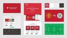 We worked  closely with the @BigRedPod team to create a new website and a variety of branding material to kick start their new podcast.