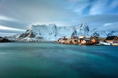 Reine in the Lofoten Islands.