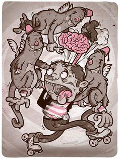 personal illustrations 2010 by Niklas Coskan