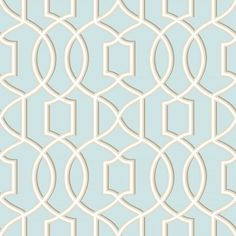 A Street Prints Geometrie Sausalito Lattice Wallpaper