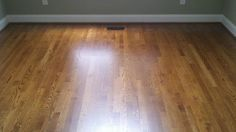 bona provincial stain on red oak - Google Search Hardwood Floor Stain Colors, Solid Wood Flooring, Hardwood Floors, Oak Flooring, Red Oak Stain, Red Oak Floors, Kitchen Flooring, Home Remodeling, Sweet Home