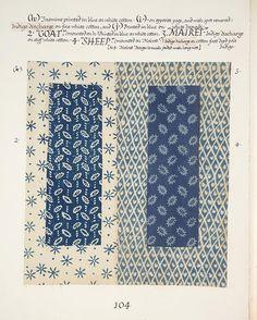 textile sample  of Barron and Larcher via VADS