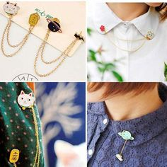 Apparel Sewing & Fabric Honest 1 Pcs Cartoon Cat Pearl Pendant Metal Brooch Button Pins Denim Jacket Pin Jewelry Decoration Badge For Clothes Lapel Pins Year-End Bargain Sale Badges