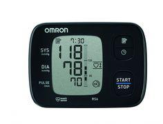 OMRON RS6 csuklós vérnyomásmérő - Kompakt, könnyen használható, oszcillometrikus elven működő vérnyomásmérő. Gyorsan és egyszerűen méri a vérnyomást és a pulzusszámot.