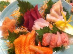 Sashimi at Golden Sakura.