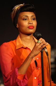 Singer Imany Mladjao