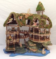 Gazebo+Fairy+House+Kit+8+by+8+by+12+inches+by+Fairyhousemagic,+$19.99