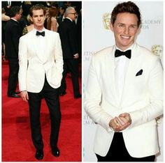Who wore it better? Andrew Garfield or Eddie Redmayne. I won't judge. (but if you say Andrew, I will murder you in your sleep)