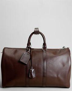 Louis Vuitton Brown Epi Leather Keepall 45 0b82e384c22cd