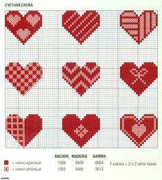 Darling Make Alphabet Friendship Bracelets Ideas. Wonderful Make Alphabet Friendship Bracelets Ideas. Tiny Cross Stitch, Cross Stitch Heart, Cross Stitch Cards, Beaded Cross Stitch, Cross Stitch Borders, Cross Stitch Designs, Cross Stitching, Cross Stitch Embroidery, Cross Stitch Patterns