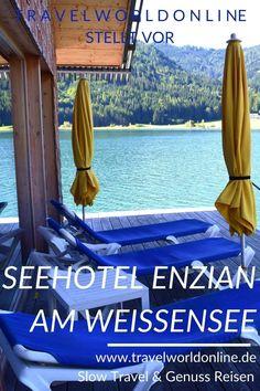 Im Seehotel Enzian am Weissensee ist der Haushund der Hausfreund prominenter Gäste. Holland, Hotels, Resorts, Travel, Food, Holiday Destinations, Destinations, House Dog, Round Trip
