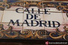 ¿Sabéis en qué barrio se encuentra la calle Madrid? www.barriosdemadrid.net
