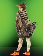 I like this Ugly Duckling HAT, but want a simpler costume