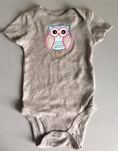 SALE 40% OFF- Cute Baby Girl Clothes-Baby Girl Outfit- Owl Shirt-Owl Bodysuit- Baby Clothing-Toddler Girl Clothing-Baby Shirt-Pink Baby Clo on Etsy, $6.00