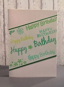 Happy Birthday Card | eBay