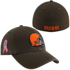 1dc188402  47 Brand Cleveland Browns BCA Primary Logo Franchise Fitted Hat - Brown   BCA Steelers