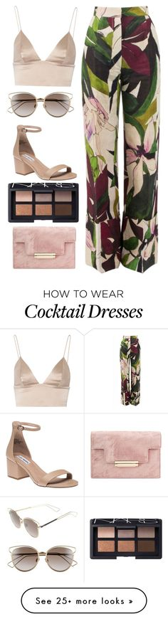 """""""Untitled #170"""" by rachlrowland on Polyvore featuring Erika Cavallini Semi-Couture, T By Alexander Wang, Christian Dior, Steve Madden and NARS Cosmetics"""