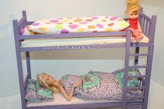 Barbie emeletes ágy. / Barbie bunkbed.