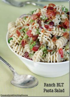 Pasta Salad Ideas Round-Up - Good Recipes Online