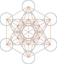 Die Ordnung der Schöpfung (Heilige Geometrie, Blume und Frucht des Lebens, Metatrons Würfel) « h0rusfalke
