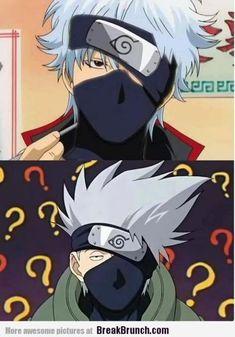gintama funny | GINTAMA Crossover Anime