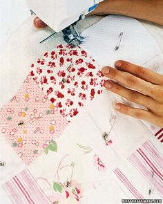 Memory Quilt - Martha Stewart Sewing Projects