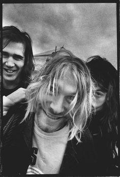 Kurt Cobain by Steve Gullick