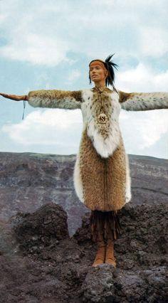 Veruschka. Vogue Italia 1970