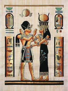 £2.96 GBP - Handcrafted Egyptian Greeting Cards Note Paper Ancient Egypt Prints Scrolls #ebay #Collectibles