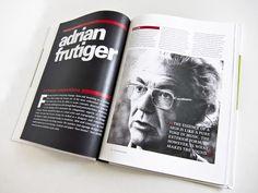 Adrian Frutiger type designer