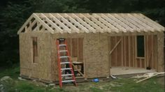 Would you like to have your own shed around your home? Here, I would like to give you several free shed plans that will help you with your DIY shed project and information about how to build a shed with a scratch. Diy Storage Shed, Wood Storage Sheds, Wooden Sheds, Firewood Storage, Wooden Pallets, Wood Shed Plans, Free Shed Plans, Shed Building Plans, Building Ideas