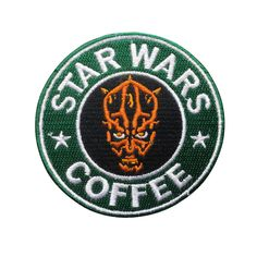 Star Wars Patch Darth Maul Patch Embroidered Movie Iron On Sew On Patches meet you on www.Fleckenworld.com