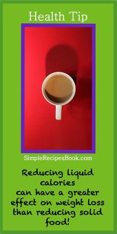 Health Tip - Liquid Calories