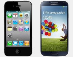 Smartphones Vergelijken - Apple iPhone 4S vs Samsung Galaxy S4 #iOS vs #Android