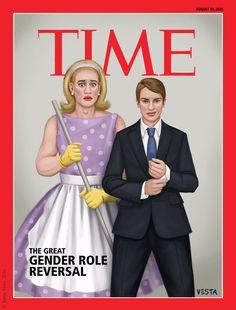 The great gender role reversal by Eves-Rib.deviantart.com on @DeviantArt