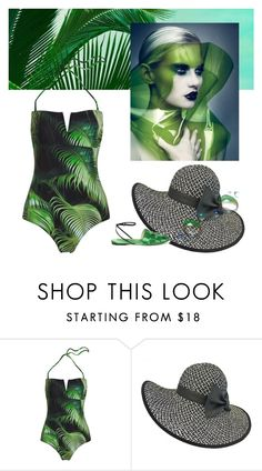 """Palm Day at the Beach"" by fl4u ❤ liked on Polyvore featuring Marco de Vincenzo"