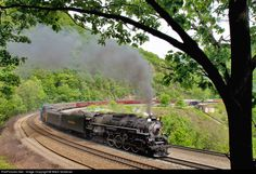 RailPictures.Net Photo: NKP 765 Nickel Plate Road Steam 2-8-4 at Altoona, Pennsylvania by Mitch Goldman