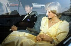 1983-05-24 Diana and Charles attend the Live Music Now Dinner at Apsley House, Belgravia in London