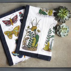 Ephemera Dish Towels | Sprout Home